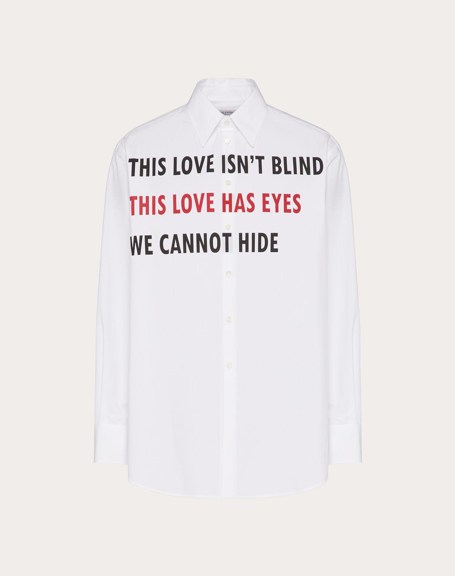 VALENTINO ON LOVE 셔츠