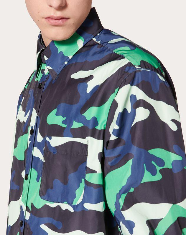 카무플라주 나일론 셔츠