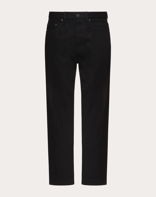 VLOGO DENIM TROUSERS