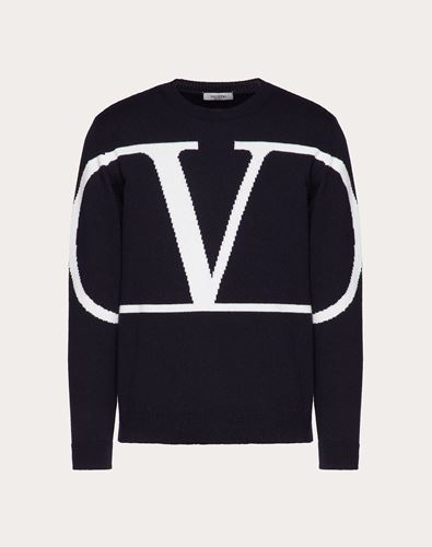 VLOGO CREW-NECK JUMPER