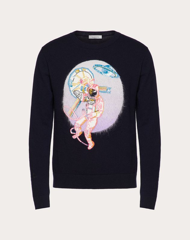 SPACELAND CREW-NECK SWEATER