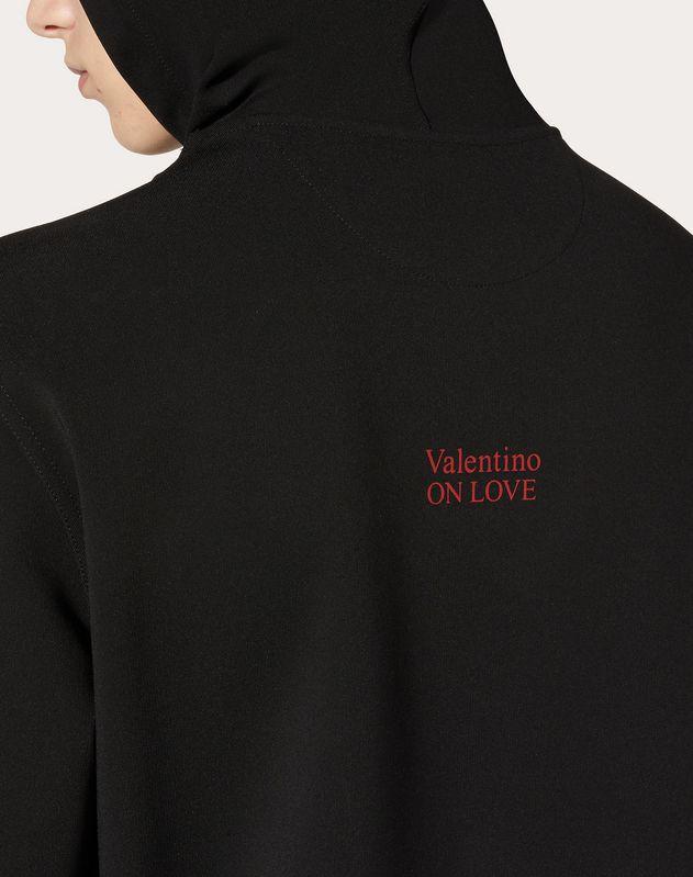 SWEAT-SHIRT À CAPUCHE VALENTINO ON LOVE