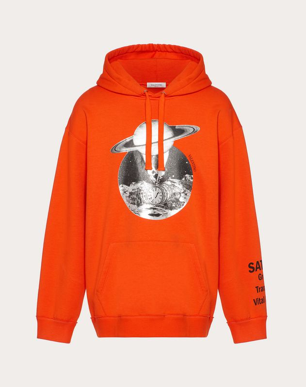 SOUL PLANETS HOODED SWEATSHIRT
