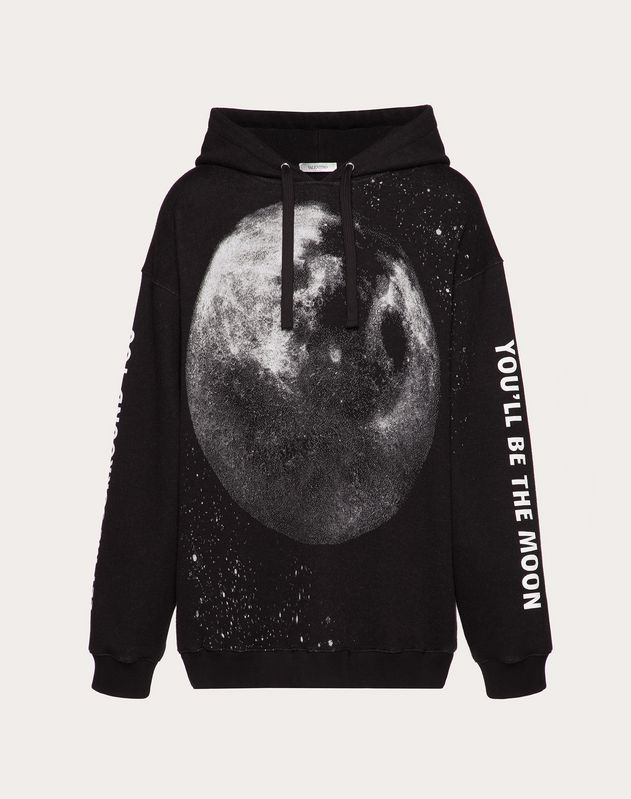 MOON DUST HOODED SWEATSHIRT