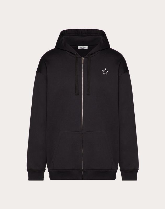 VLTNSTAR HOODED SWEATSHIRT WITH ZIP