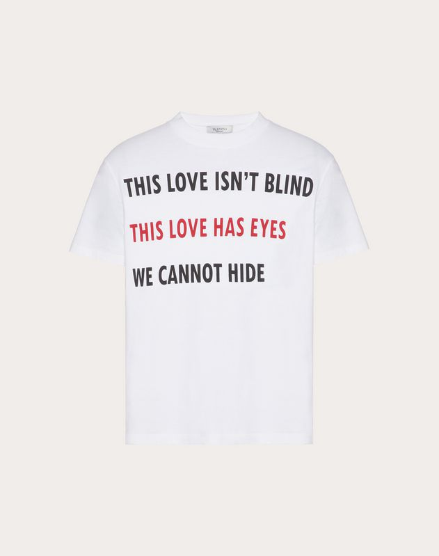 VALENTINO ON LOVE T-SHIRT