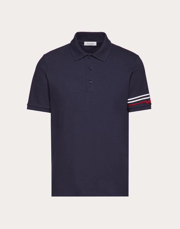 REDBROIDERY POLO SHIRT