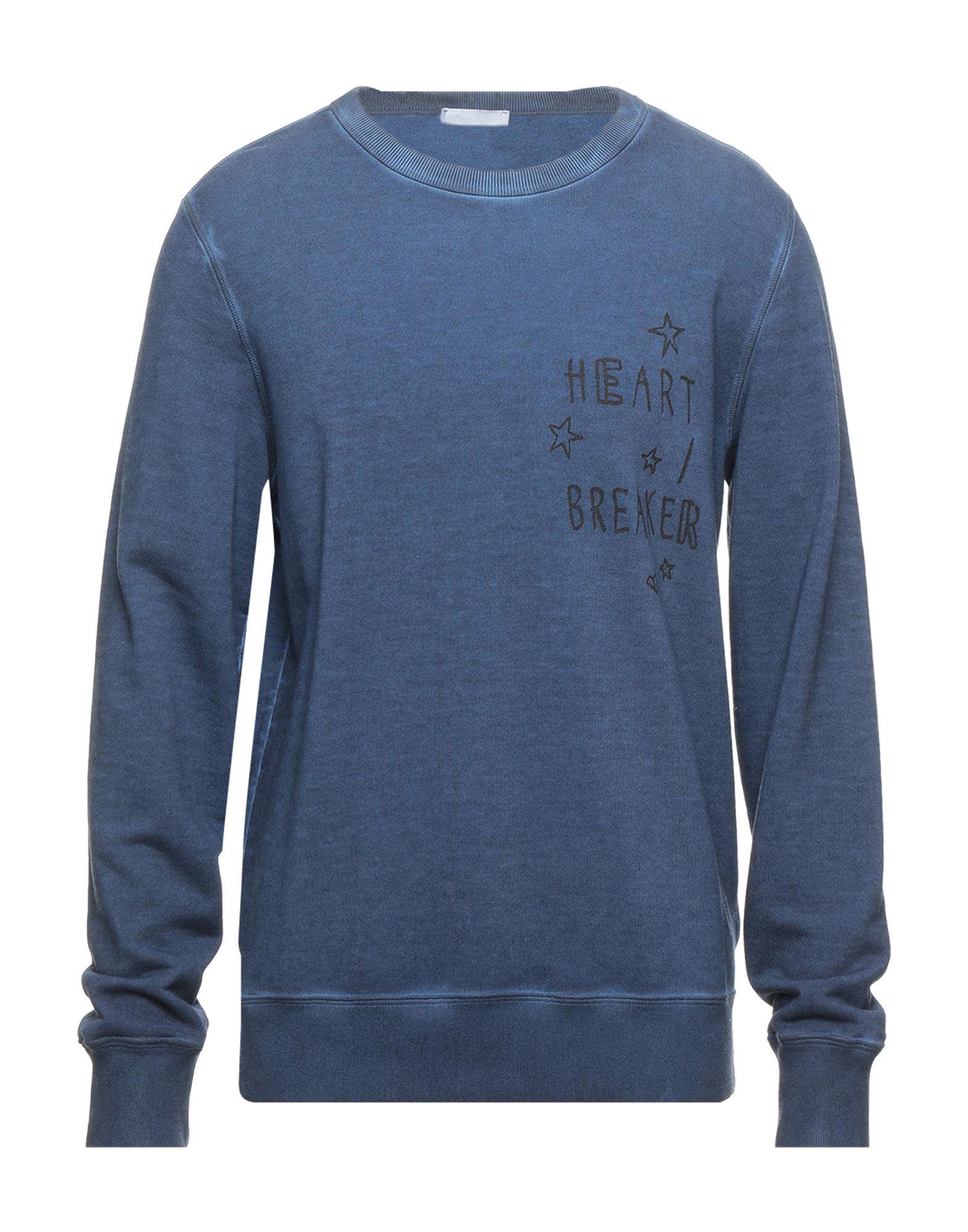 《セール開催中》DONDUP メンズ スウェットシャツ ダークブルー L コットン 100%