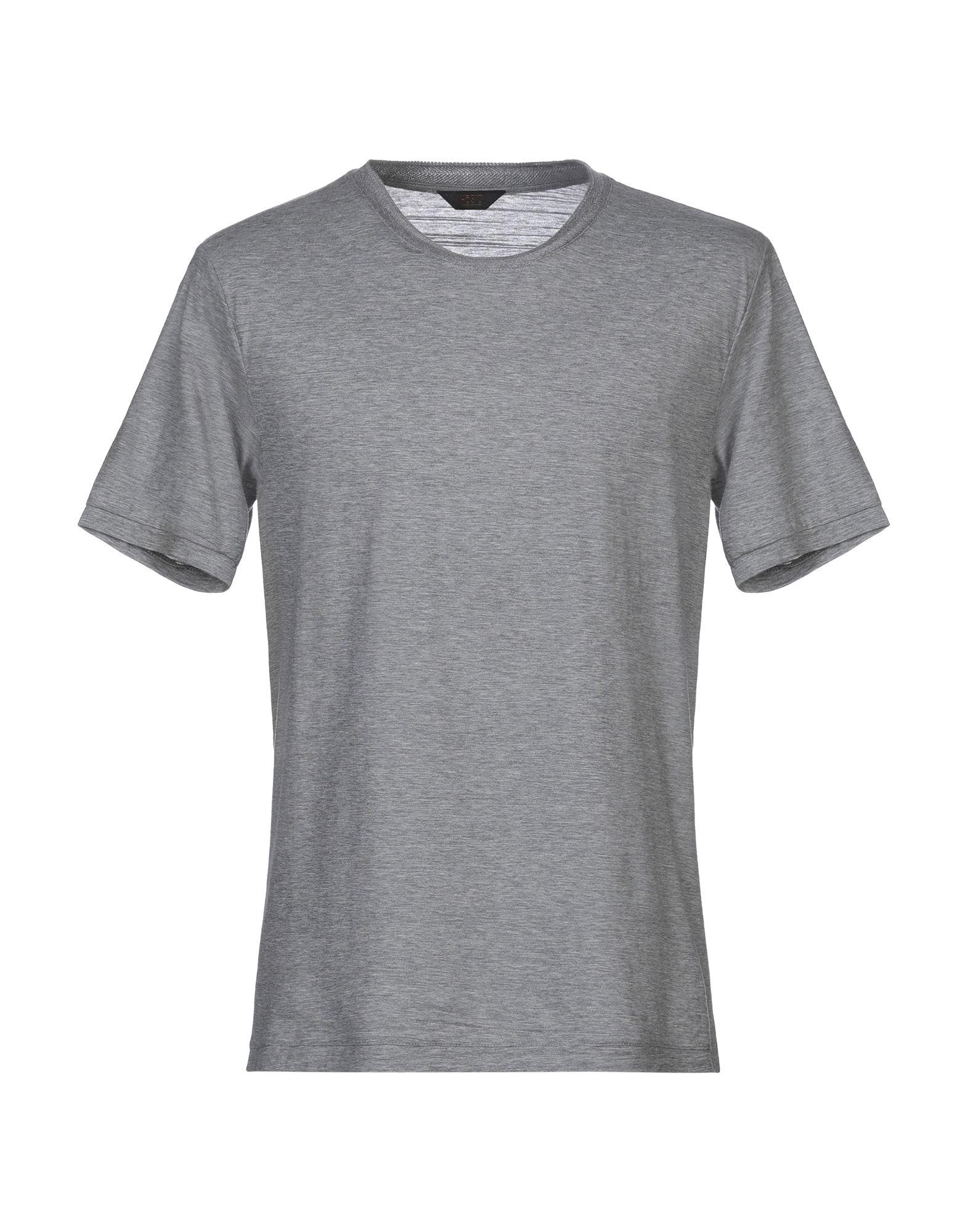 《セール開催中》H?SIO メンズ T シャツ グレー L コットン 100%