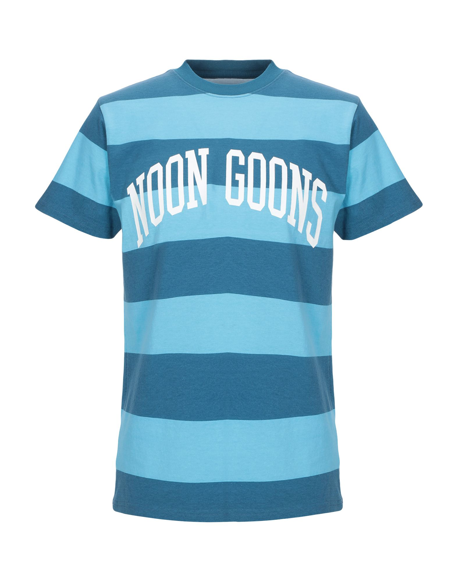 《セール開催中》NOON GOONS メンズ T シャツ ブルー S コットン 100%
