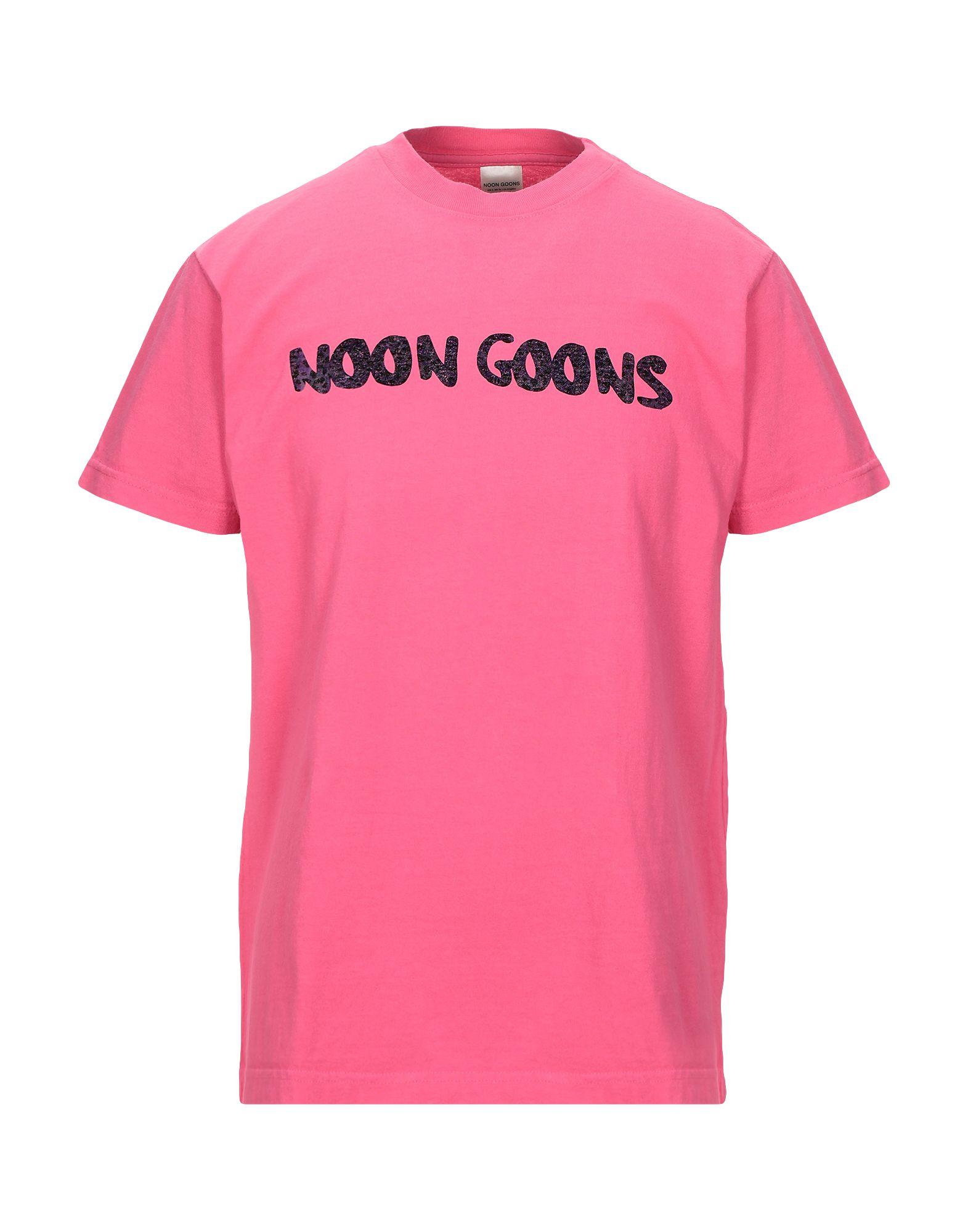 《セール開催中》NOON GOONS メンズ T シャツ フューシャ S コットン 100%