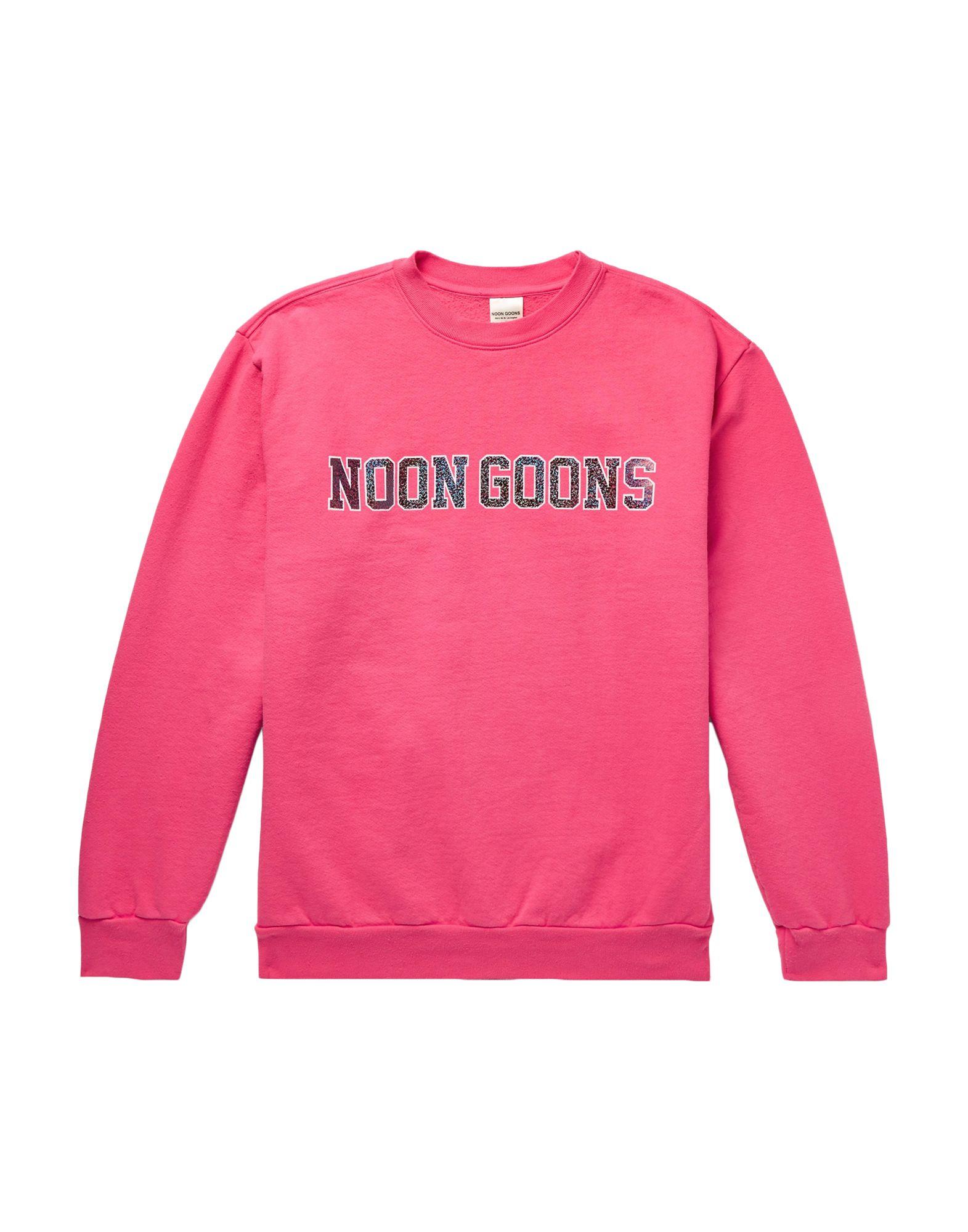 《セール開催中》NOON GOONS メンズ スウェットシャツ フューシャ M コットン 100%