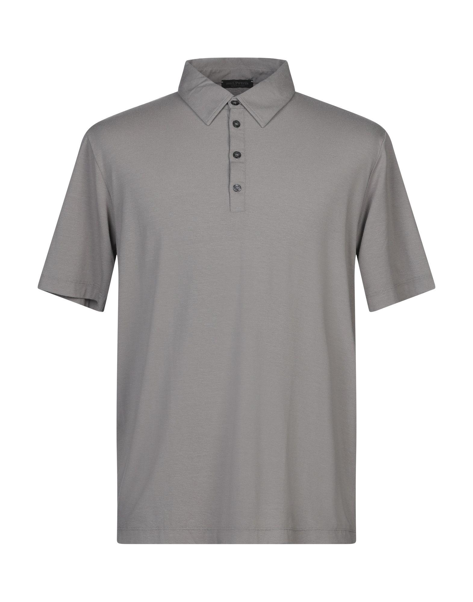 《セール開催中》PHIL PETTER メンズ ポロシャツ 鉛色 XXL レーヨン 86% / ポリウレタン 14%