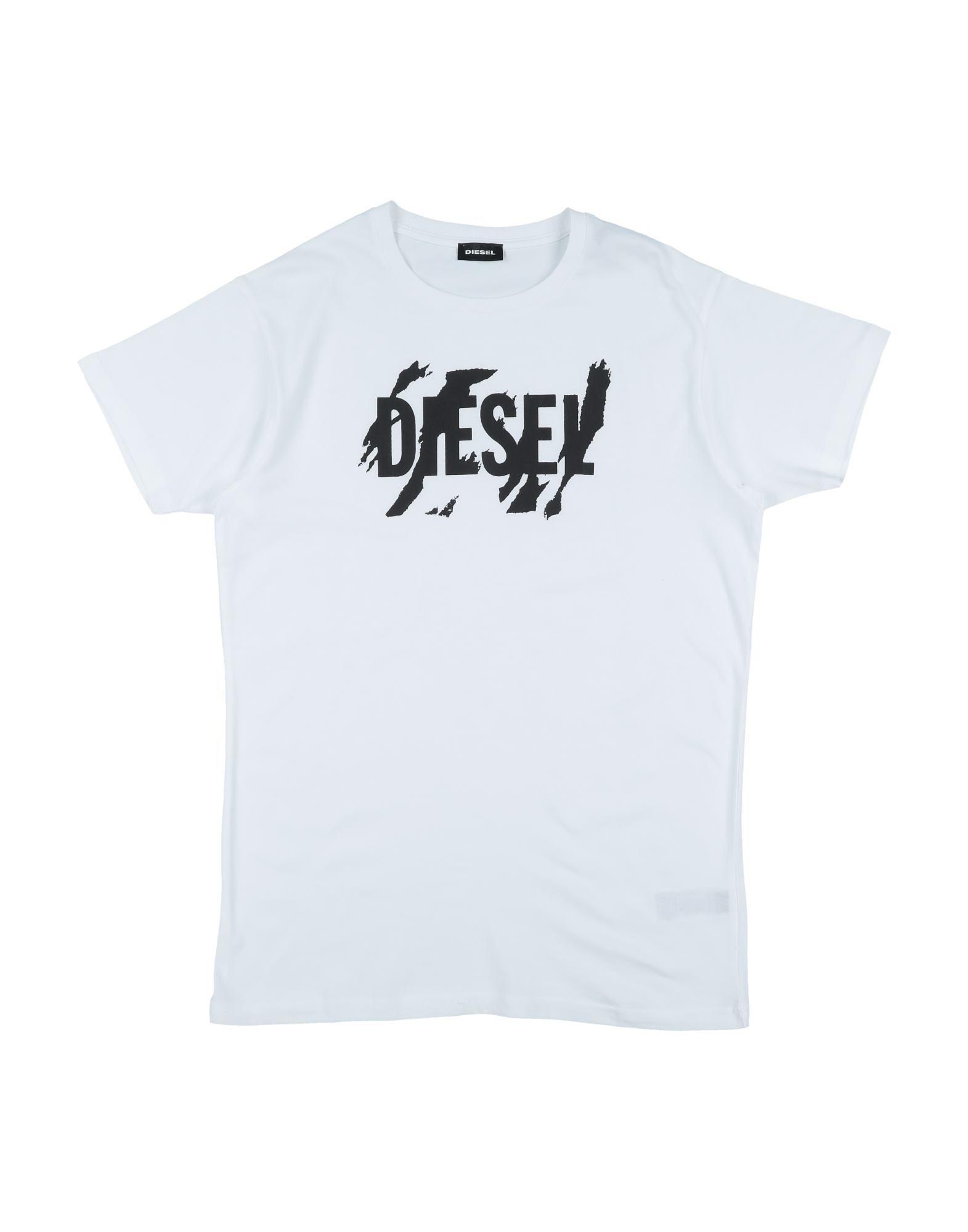 Diesel Kids' T-shirts In White