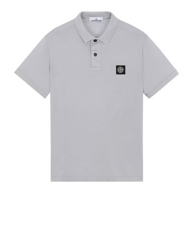 STONE ISLAND 22613 Polo shirt Man Dust Gray EUR 142