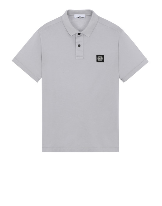 STONE ISLAND 22613 Polo shirt Man Dust Grey