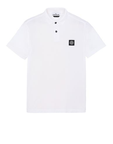 STONE ISLAND 22613 Polo shirt Man White USD 125