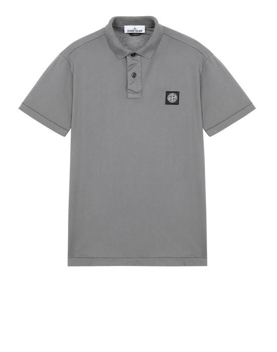 STONE ISLAND 22613 Polo shirt Man Blue Grey