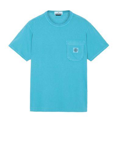 STONE ISLAND 20257 Short sleeve t-shirt Man Turquoise USD 75