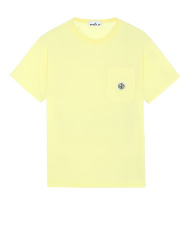 STONE ISLAND 20257 Short sleeve t-shirt Man Lemon EUR 98