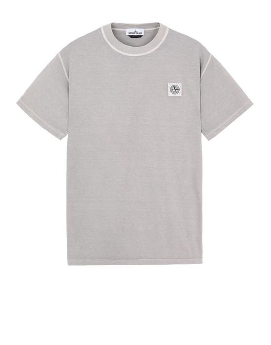 STONE ISLAND 23757 Short sleeve t-shirt Man Dust Grey