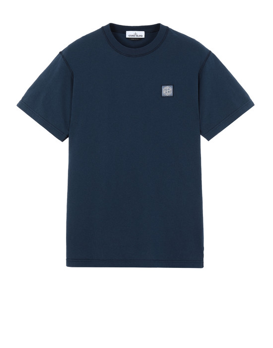 STONE ISLAND 23757 Short sleeve t-shirt Man Marine Blue