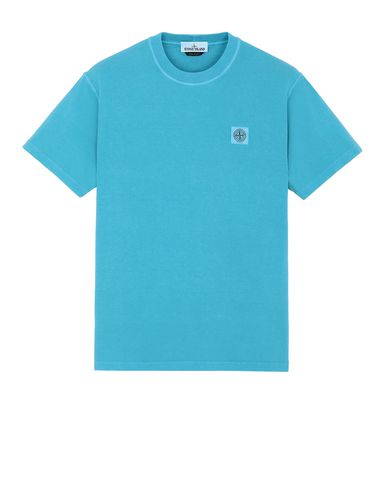STONE ISLAND 23757 Short sleeve t-shirt Man Turquoise USD 147