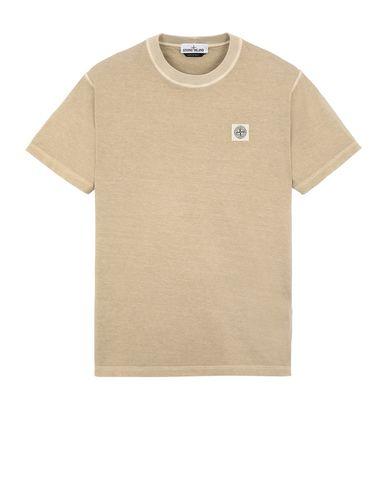 STONE ISLAND 23757 Short sleeve t-shirt Man Dark Beige EUR 115