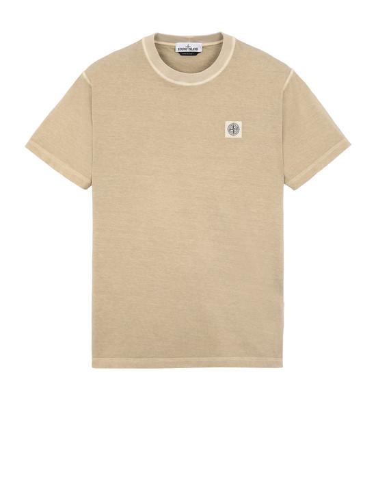 STONE ISLAND 23757 Short sleeve t-shirt Man Dark Beige