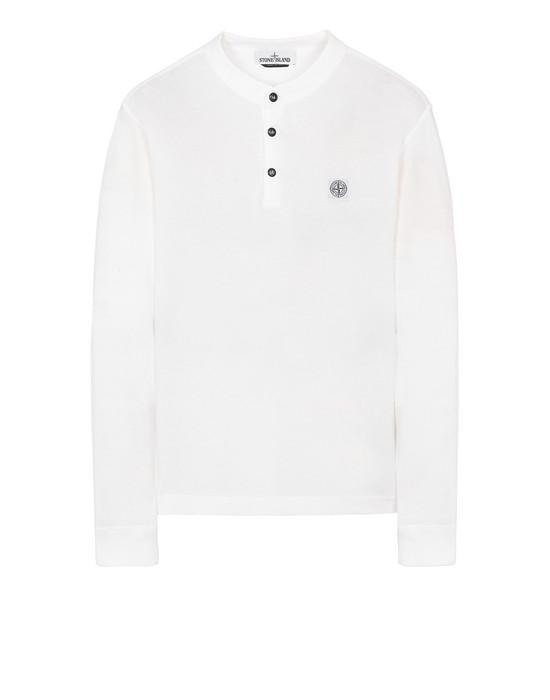 "STONE ISLAND 22157""FISSATO""DYE TREATMENT Long sleeve t-shirt Man Vime"