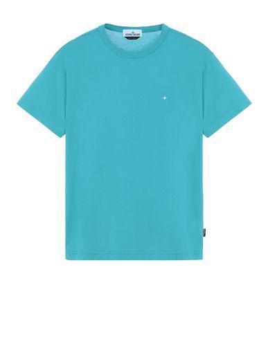 STONE ISLAND 22913 Short sleeve t-shirt Man Turquoise EUR 113