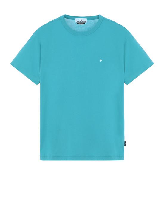 STONE ISLAND 22913 Short sleeve t-shirt Man Turquoise
