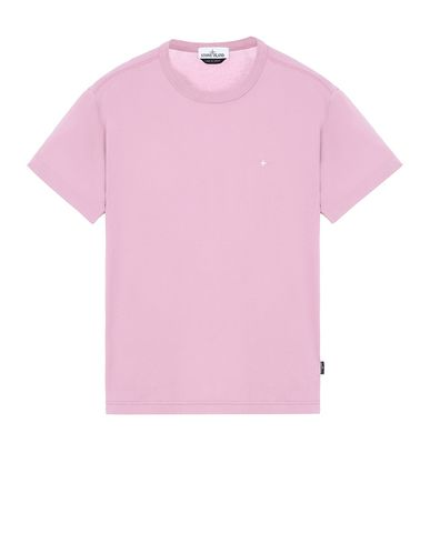 STONE ISLAND 22913 Short sleeve t-shirt Man Pink Quartz EUR 113