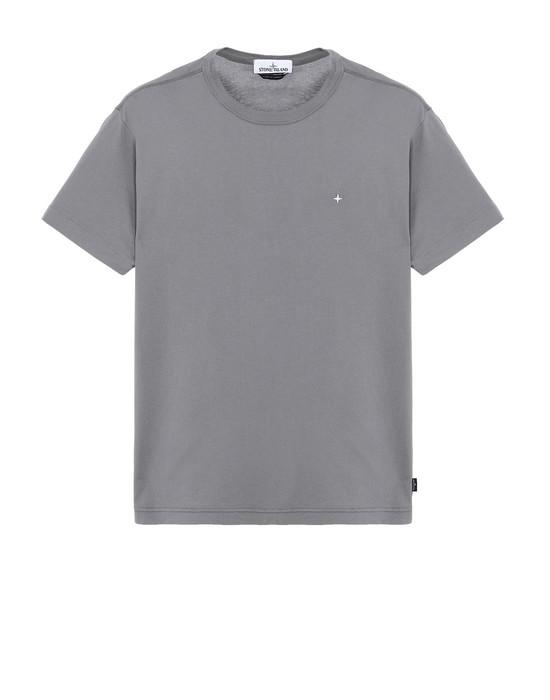 STONE ISLAND 22913 Short sleeve t-shirt Man Blue Grey