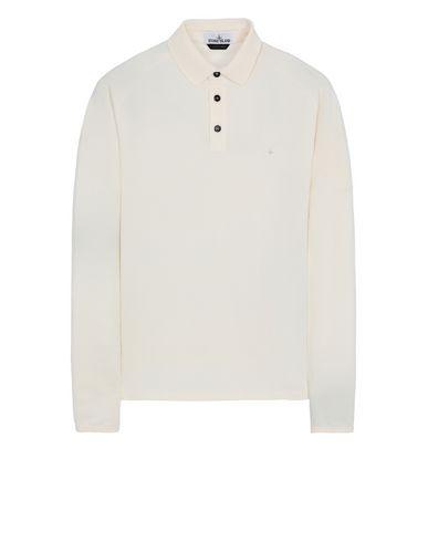 STONE ISLAND 21617 Polo shirt Man Ivory EUR 145