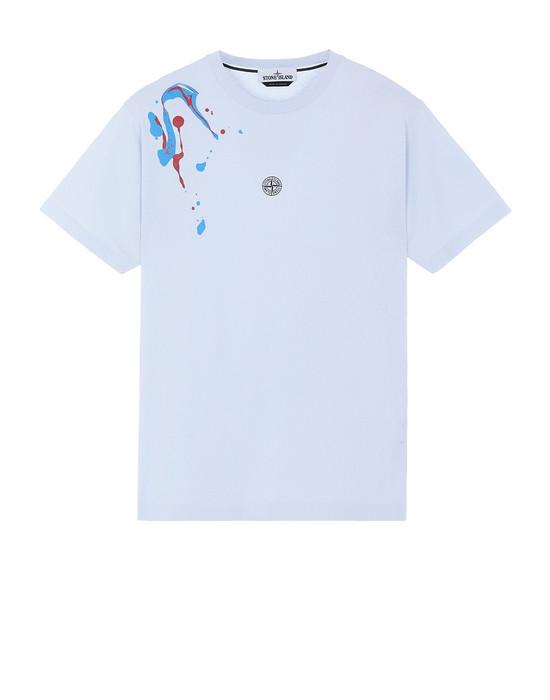 """STONE ISLAND 2NS81""""ACQUADRONE TWO"""" T-Shirt Herr Himmelblau"""