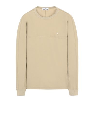 STONE ISLAND 23945 Long sleeve t-shirt Man Dark Beige EUR 111