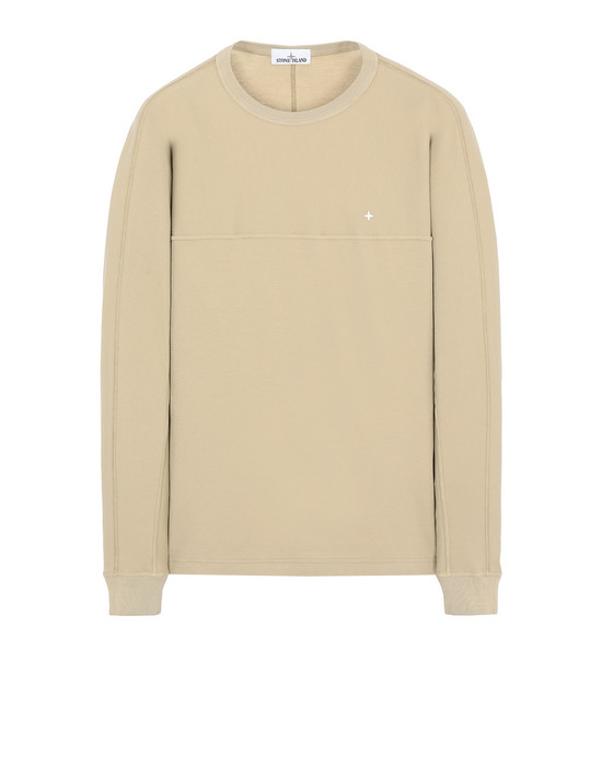 STONE ISLAND 23945 Long sleeve t-shirt Man Dark Beige