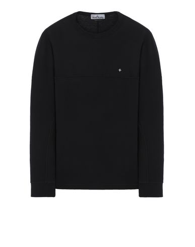 STONE ISLAND 23945 Long sleeve t-shirt Man Black USD 224