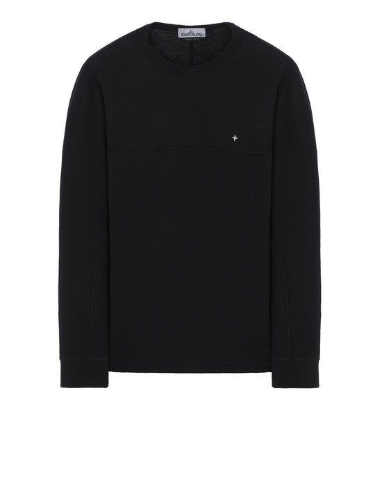 STONE ISLAND 23945 Long sleeve t-shirt Man Black
