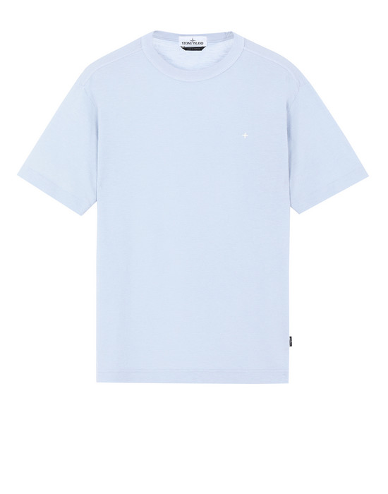 STONE ISLAND 22811 Short sleeve t-shirt Man Sky Blue