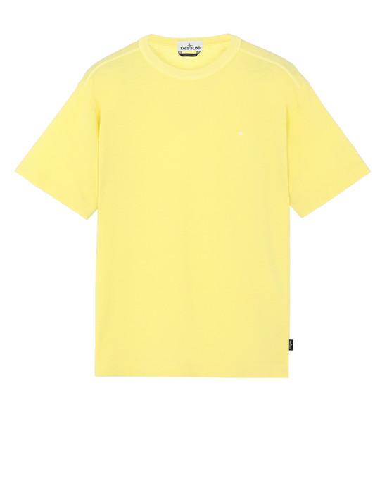 STONE ISLAND 22811 Short sleeve t-shirt Man Lemon