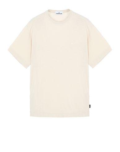 STONE ISLAND 22811 Short sleeve t-shirt Man Beige EUR 140