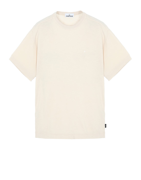 STONE ISLAND 22811 Short sleeve t-shirt Man Beige