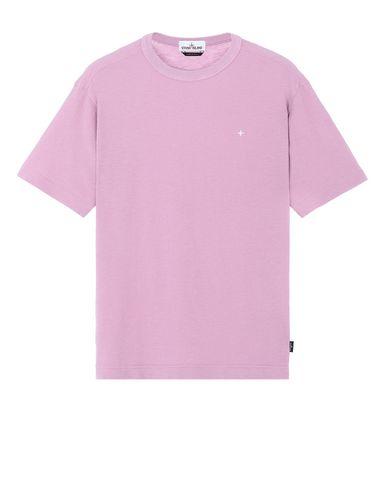 STONE ISLAND 22811 Short sleeve t-shirt Man Pink Quartz USD 103