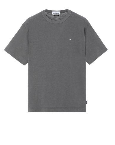 STONE ISLAND 22811 Short sleeve t-shirt Man Blue Grey EUR 149