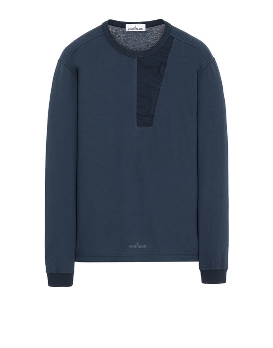 STONE ISLAND 20458 Long sleeve t-shirt Man Marine Blue
