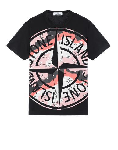 STONE ISLAND 23386 DESERT CAMO Short sleeve t-shirt Man  USD 156
