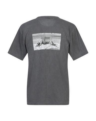 Фото 2 - Женскую футболку GEO свинцово-серого цвета