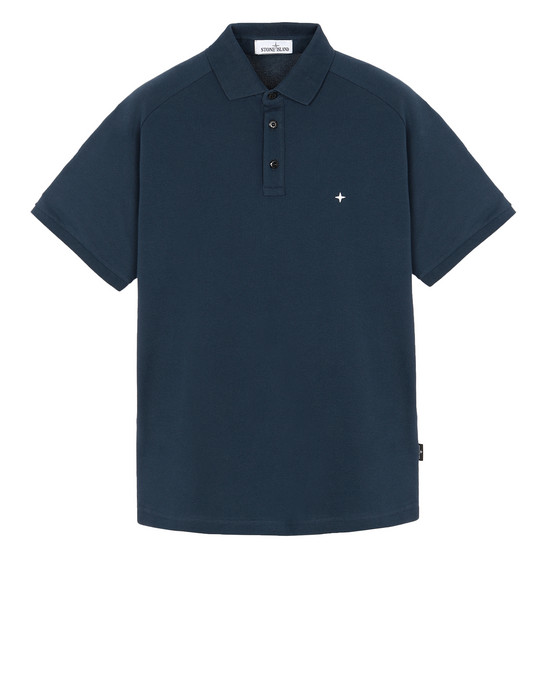 STONE ISLAND 22317 Polo shirt Man Marine Blue